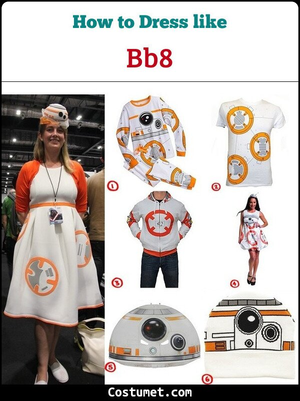 BB8 Cosplay & costume guide