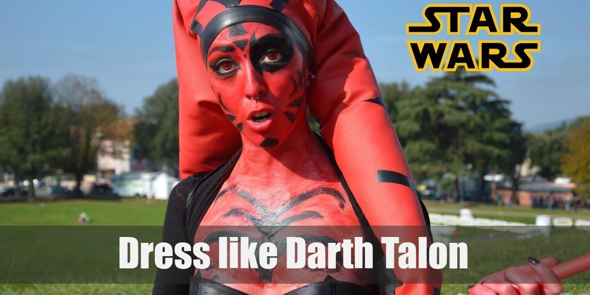 Dress Like Darth Talon From Star Wars Costume For Cosplay Halloween