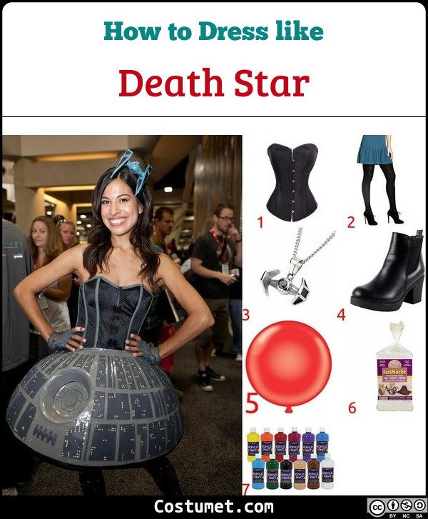 Death Star Costume for Cosplay & Halloween