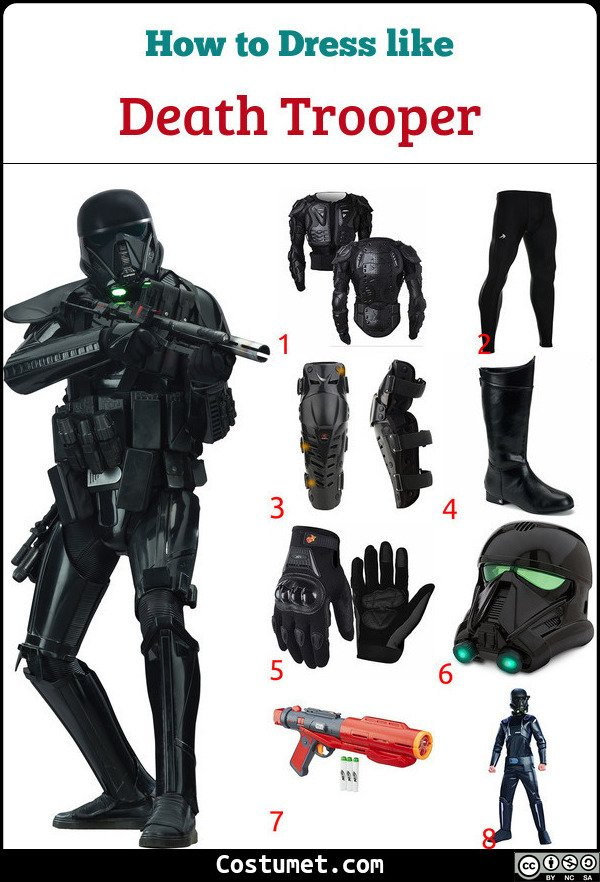 Death Trooper Costume for Cosplay & Halloween