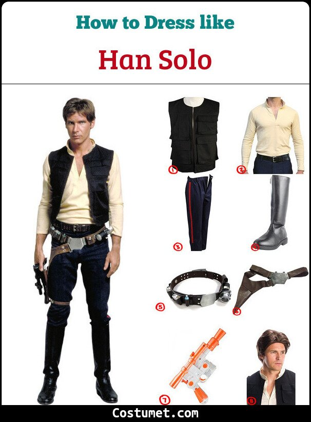 Han Solo Cosplay & Costume Guide