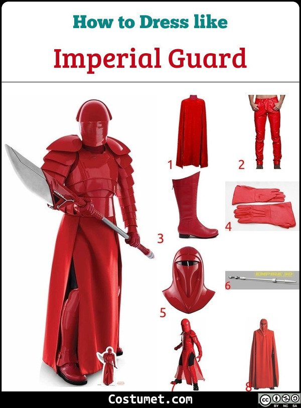 Imperial Guard Costume for Cosplay & Halloween