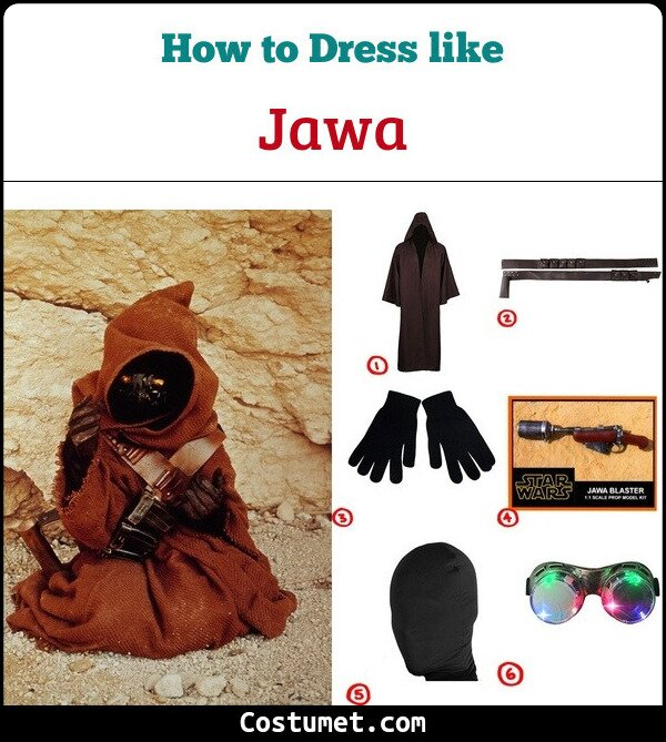 Jawa Cosplay & Costume Guide