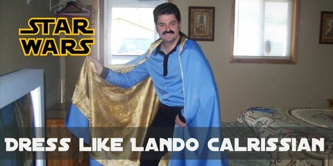 Compared to the most of Star Wars characters, Lando Calrissian costume looks pretty much ordinary. Lando pretty common pieces of clothes.