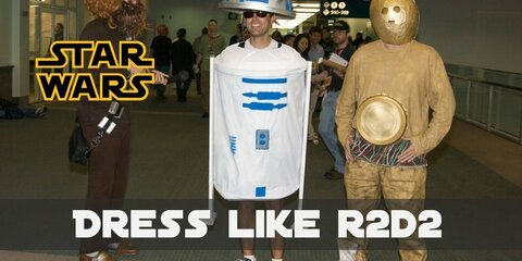Create Your Own Star Wars R2-D2 Costume