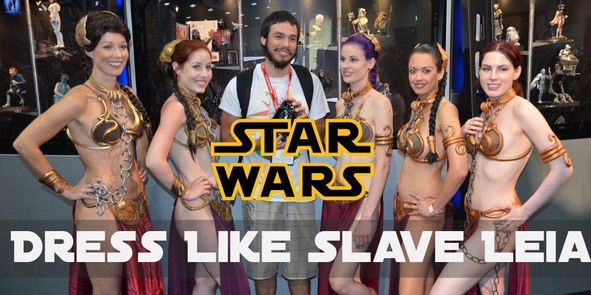 Slave Leia from Star Wars Costume for Halloween 2019