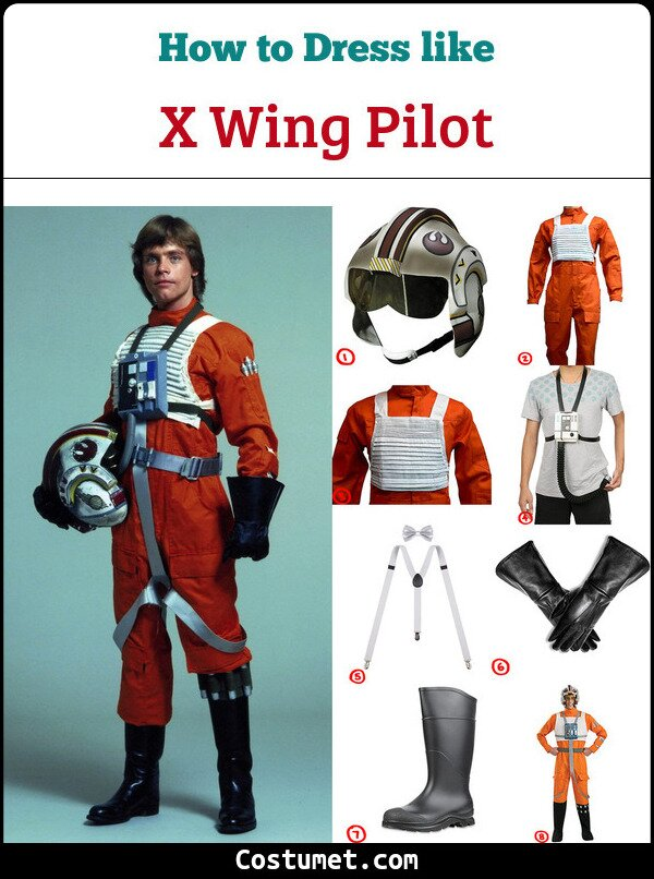 X Wing Pilot Cosplay & Costume Guide