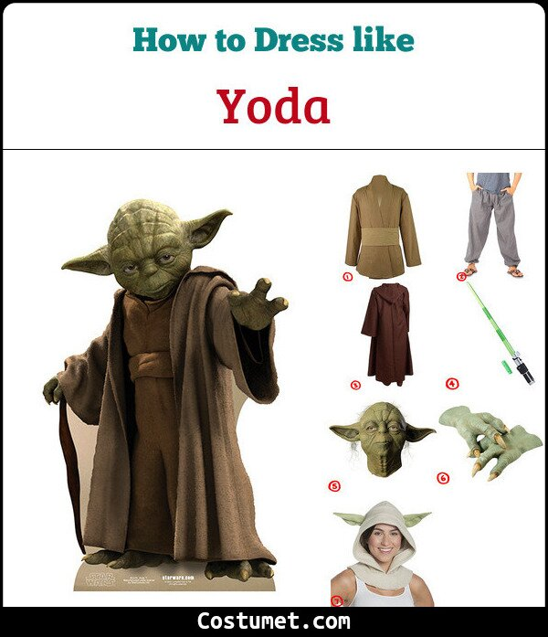 Yoda Cosplay & Costume Guide