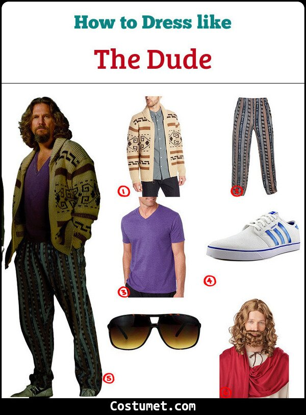 The Dude Costume for Cosplay & Halloween