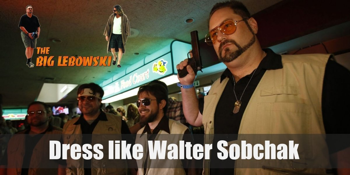 4241308f0b Dress Like Walter Sobchak Costume for Cosplay   Halloween