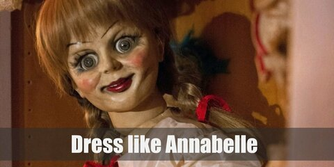 Dress like Annabelle the Doll (The Conjuring) Costume
