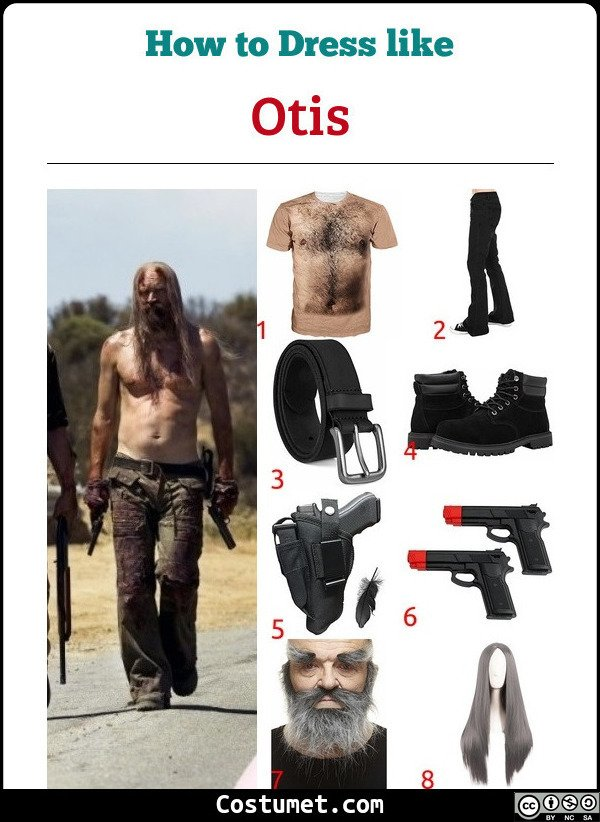 Otis The Devils Rejects Costume for Cosplay & Halloween