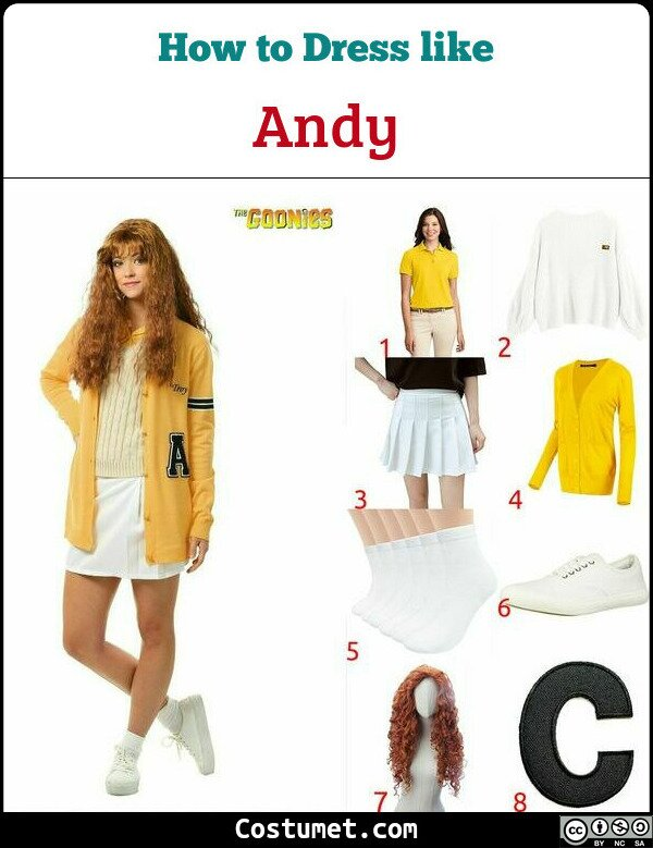 Andy Costume for Cosplay & Halloween