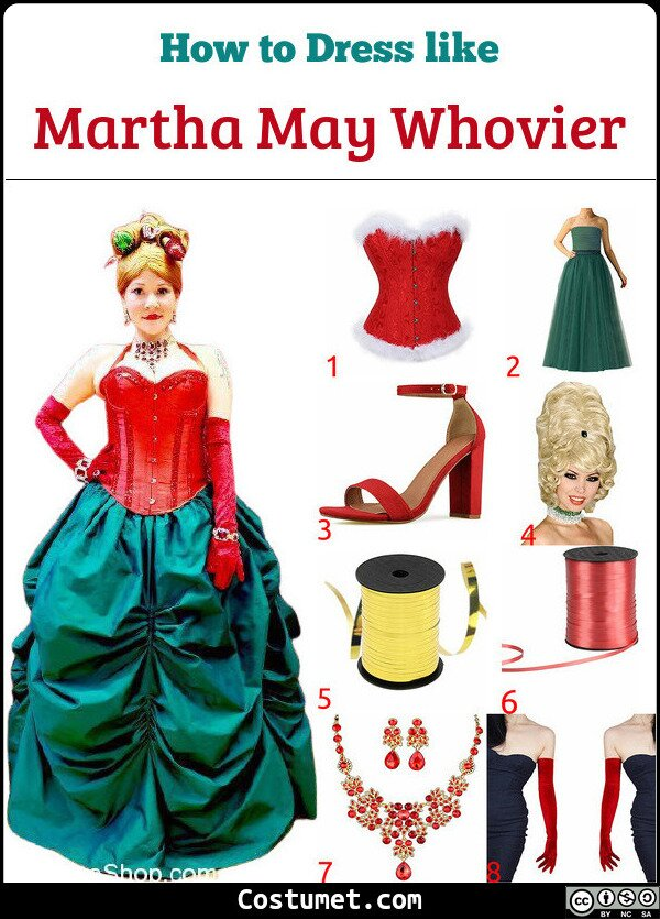 Martha May Whovier Costume for Cosplay & Halloween