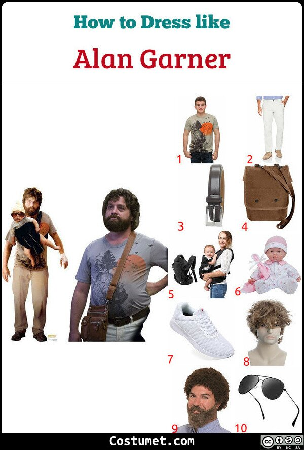 Alan Garner Costume for Cosplay & Halloween