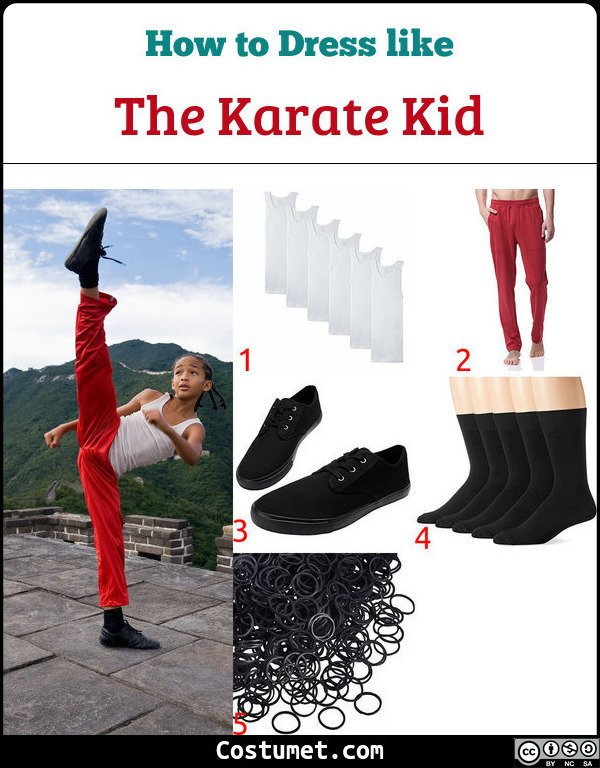 The Karate Kid Costume for Cosplay & Halloween