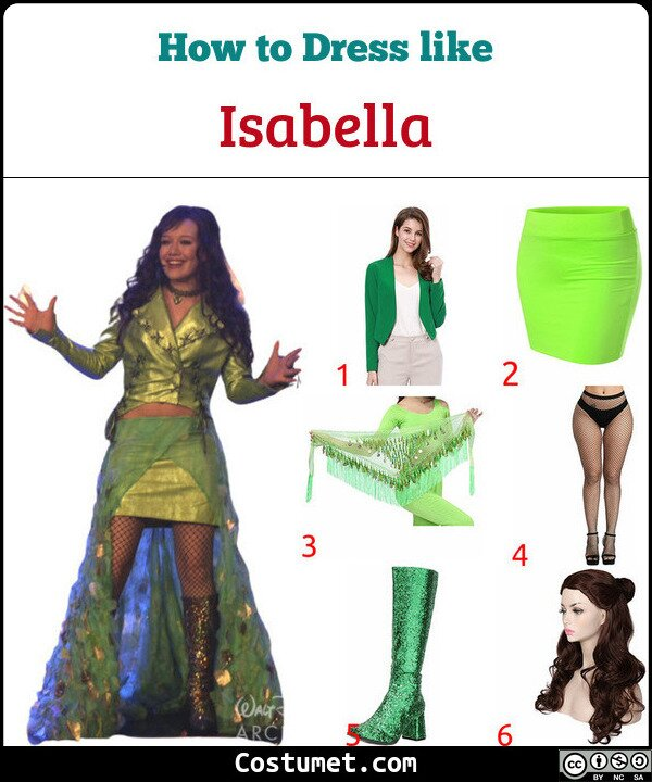 Isabella Costume for Cosplay & Halloween