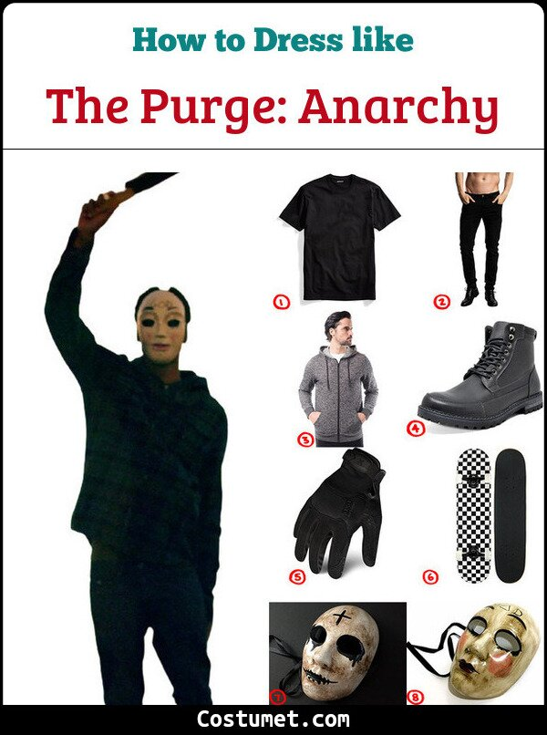Anarchy Costume for Cosplay & Halloween