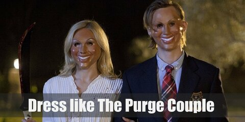 Dress Like The Purge Couple Costume