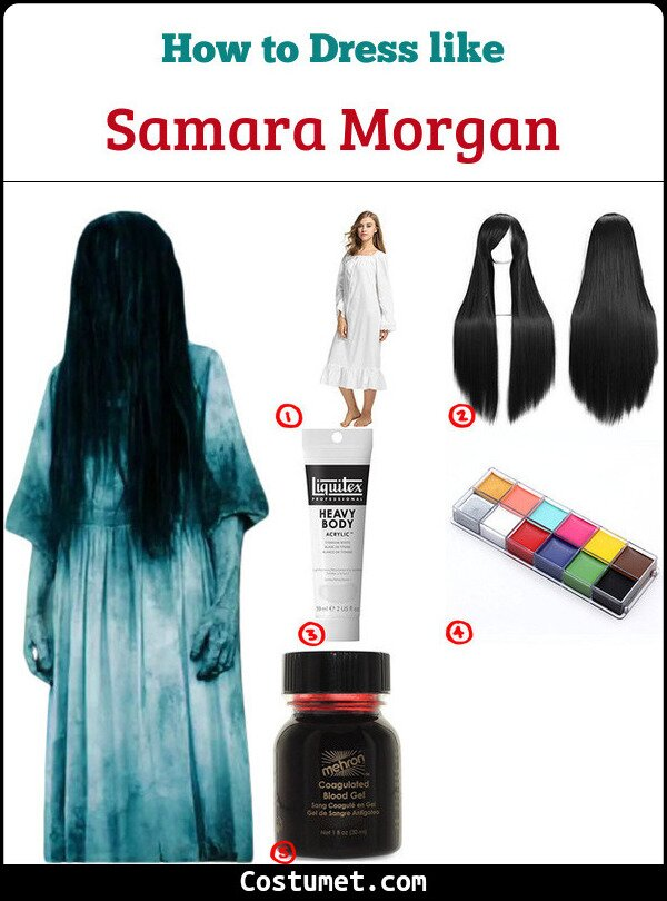 Samara Morgan Cosplay & Costume Guide