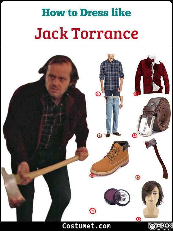 Jack Torrance Costume for Cosplay & Halloween