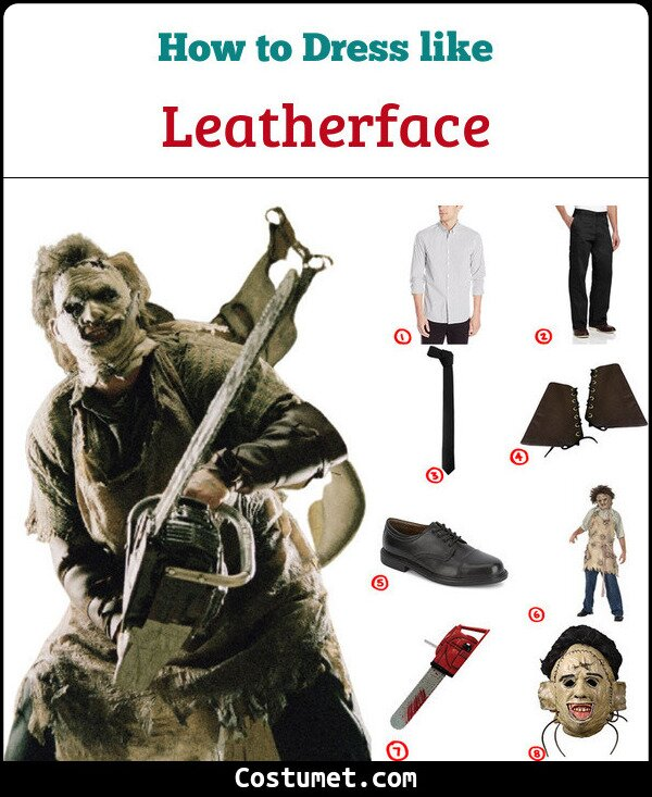 Leatherface Costume for Cosplay & Halloween