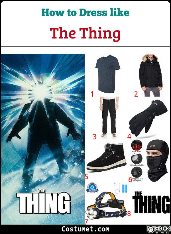 The Thing Costume for Cosplay & Halloween