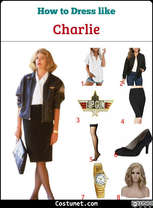 Charlie Costume for Cosplay & Halloween