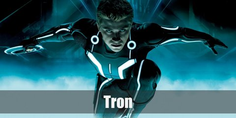 To make your own tron light suit costume, you will need a black bodysuit, black boots, black gloves, a black motorcycle helmet, and electroluminescent strips.