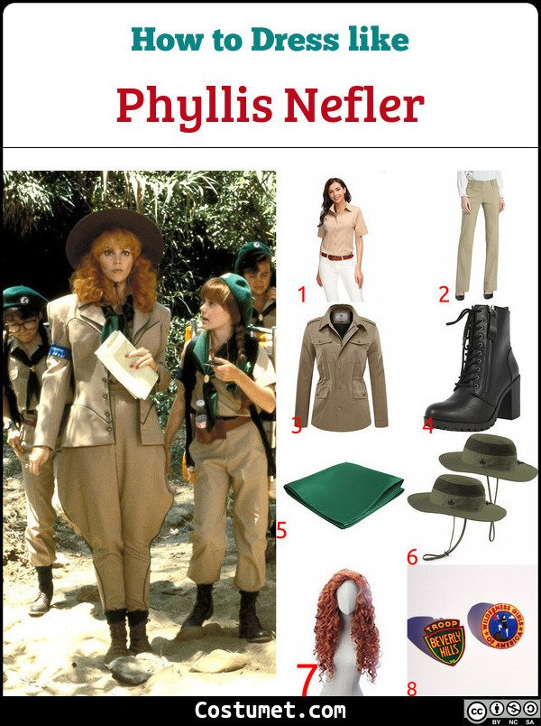 Troop Beverly Hills Costume for Cosplay & Halloween