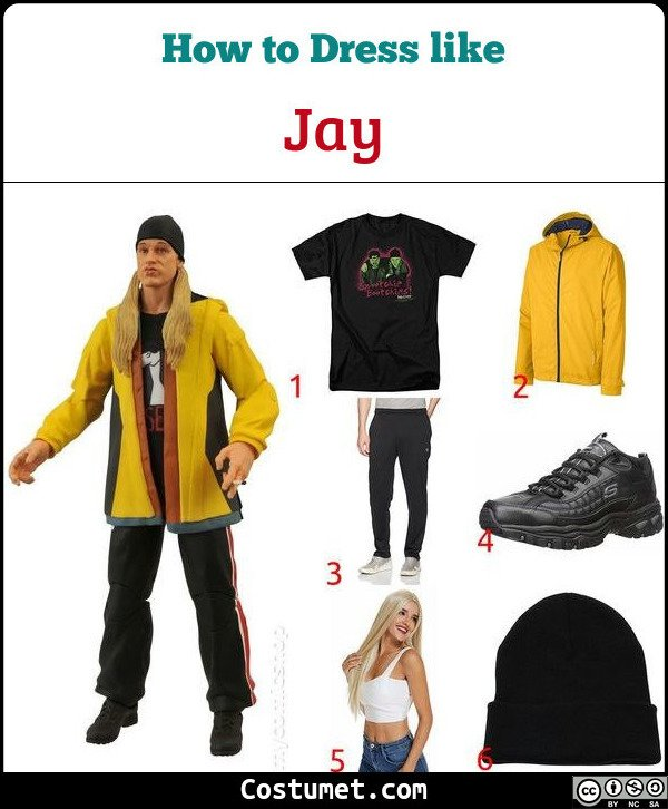 Jay (View Askewniverse) Costume for Cosplay & Halloween
