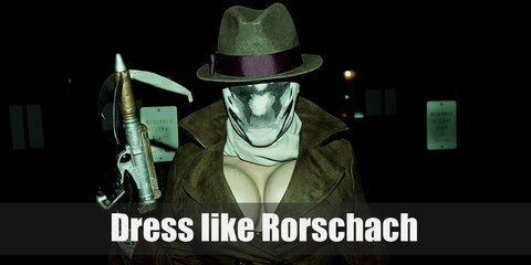 Dress like Rorschach Costume