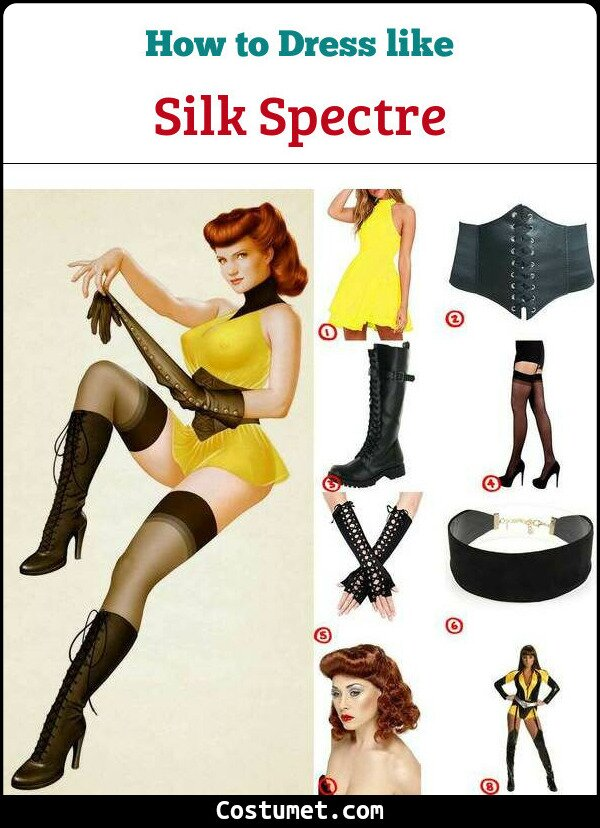 Silk Spectre Cosplay & Costume Guide