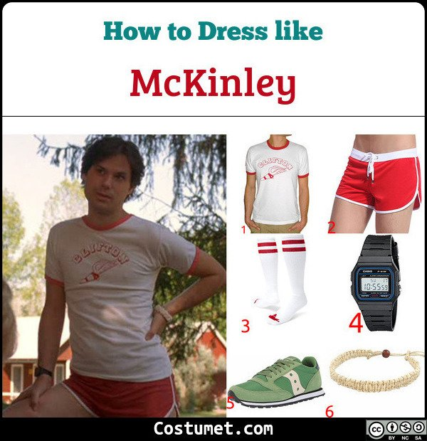 McKinley Wet Hot American Summer Costume for Cosplay & Halloween
