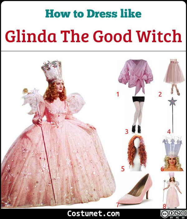 Glinda The Good Witch Costume for Cosplay & Halloween