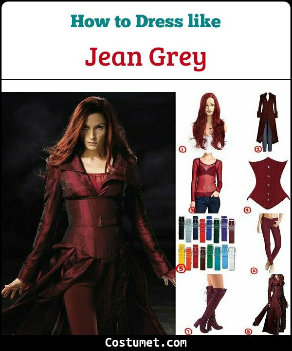 Jean Grey Cosplay & Costume Guide