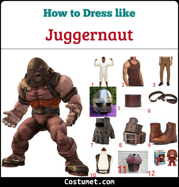 Juggernaut Costume for Cosplay & Halloween