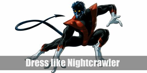 Dress like Nightcrawler Costume