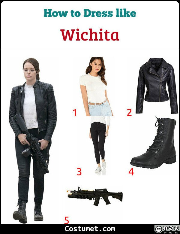 Wichita Costume for Cosplay & Halloween