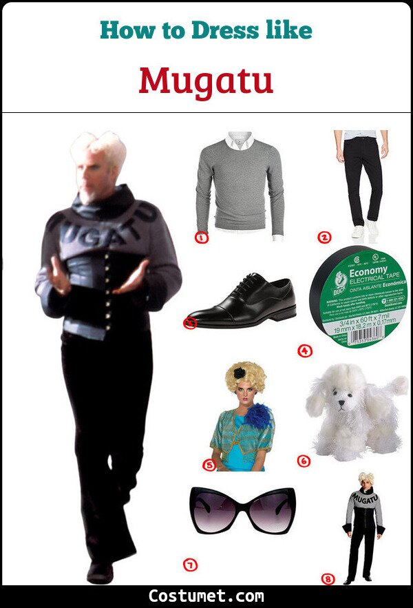 Mugatu Costume for Cosplay & Halloween