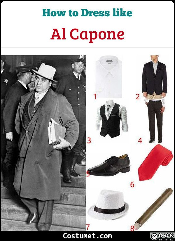 Al Capone Costume for Cosplay & Halloween