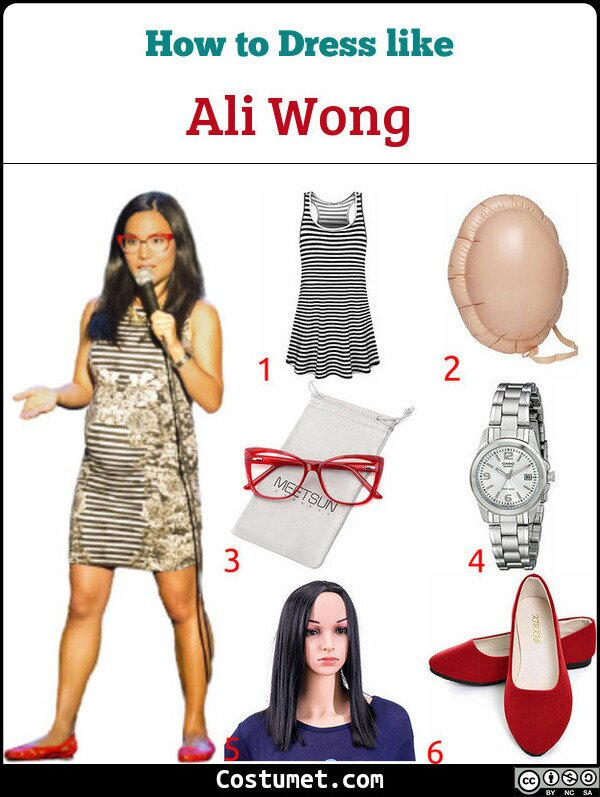 Ali Wong Costume for Cosplay & Halloween