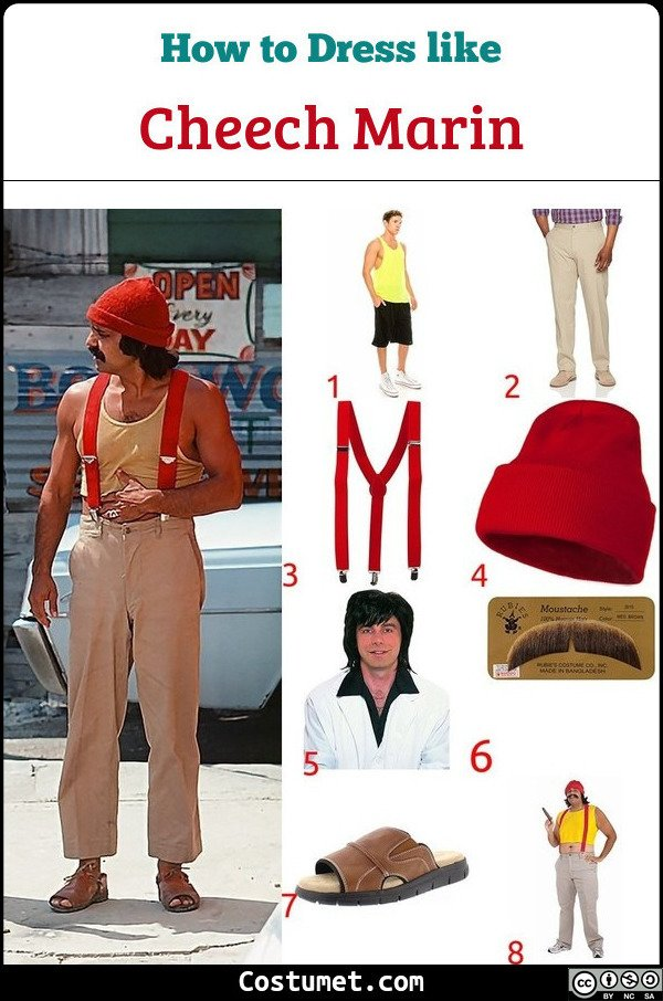 Cheech Marin Costume for Cosplay & Halloween
