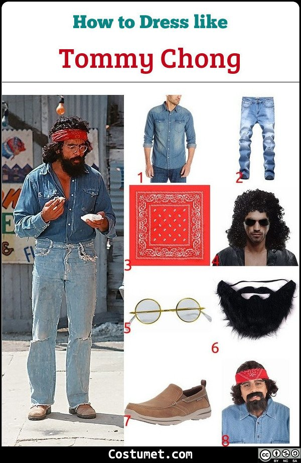 Tommy Chong Costume for Cosplay & Halloween