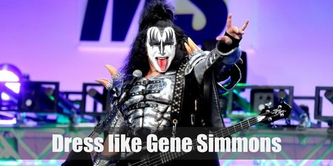 Gene Simmons (KISS) Costume