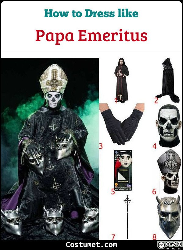 Papa Emeritus Costume for Cosplay & Halloween