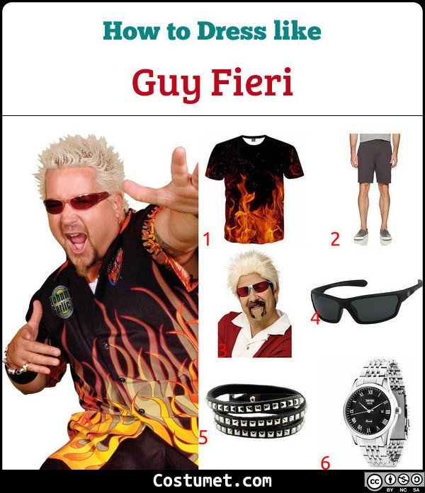 Guy Fieri Costume for Cosplay & Halloween