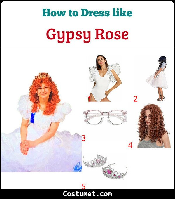 Gypsy Rose Costume for Cosplay & Halloween