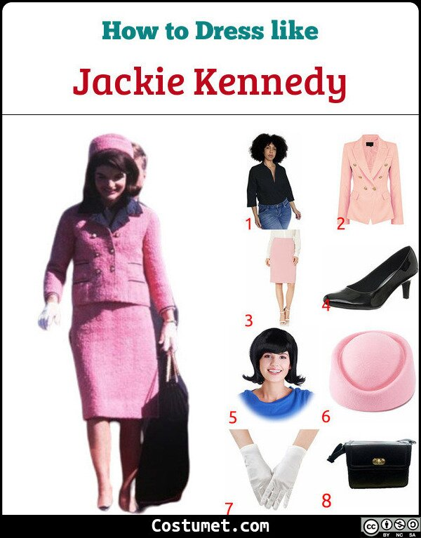 Jackie Kennedy Costume for Cosplay & Halloween