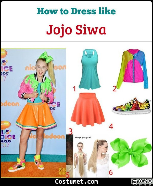 Jojo Siwa Costume for Cosplay & Halloween